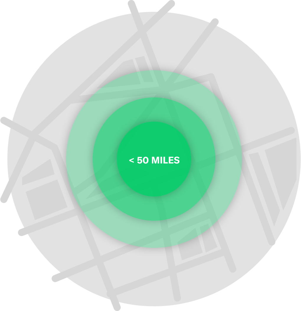 Expand your radius and decide who sees your inventory.