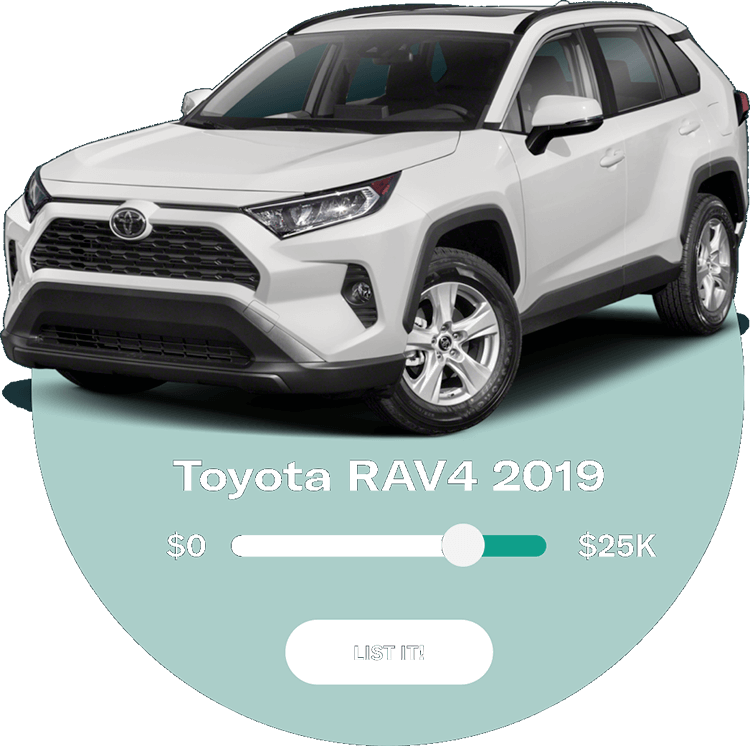 You're in charge of setting each vehicle's price — we make sure shoppers see a price specific to their credit tier from the start, including all applicable rebates and incentives.