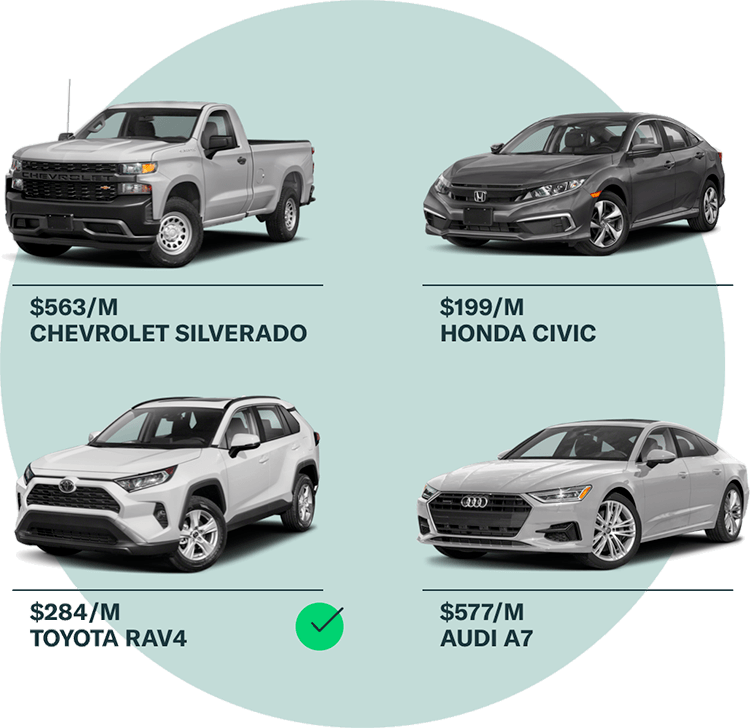 View our inventory by make and model, or filter by vehicle specs.